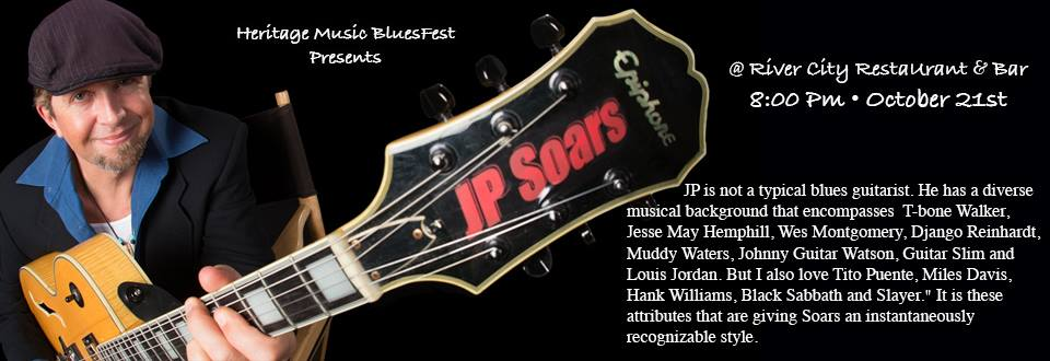 J. P. Soars - Blues Tuesday