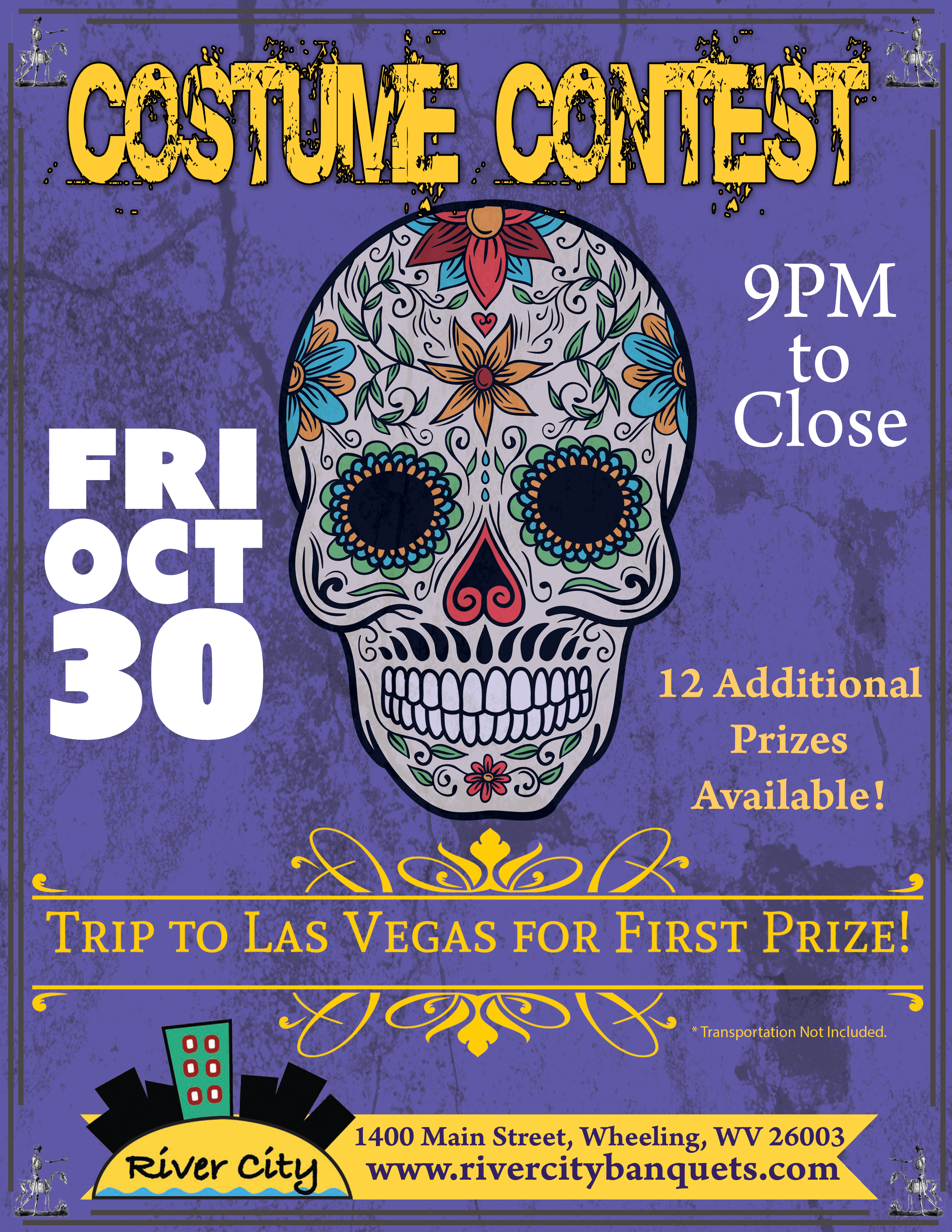 Halloween Party with Prizes! - River City Restaurant & Banquets